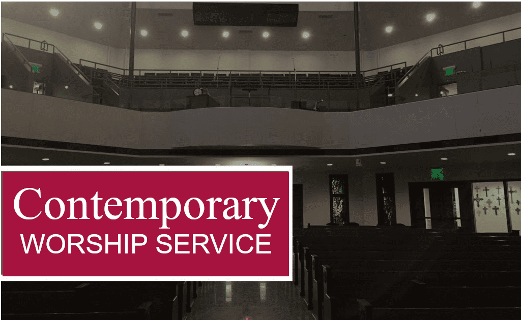 Contemporary Service